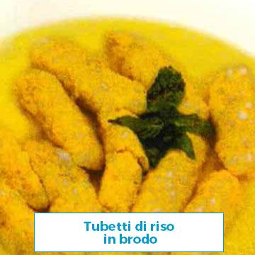 Ricetta Tubetti di riso in brodo